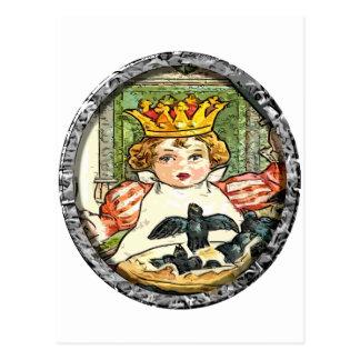 Carte Postale Le roi et le tarte