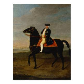 Carte Postale Le Roi Frederick William ' à cheval