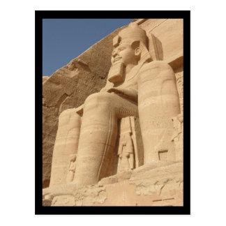 Carte Postale Le Roi Ramses Abu Simbel Egypte