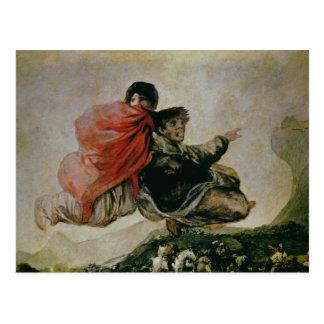 Carte Postale Le sabbat des sorcières, c.1819-23