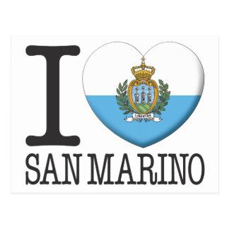 Carte Postale Le Saint-Marin