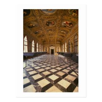 Carte Postale Le Sala Dorata, construit 1537-88 (photo)
