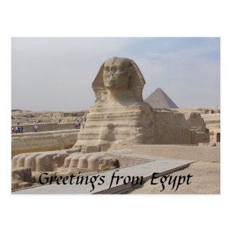 Carte Postale Le sphinx, le Caire