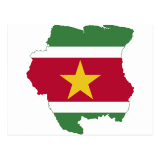 Carte Postale Le Surinam