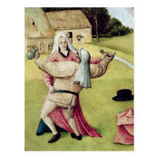 Carte Postale Le Tableau des sept péchés mortels