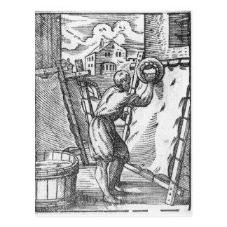 Carte Postale Le tanneur