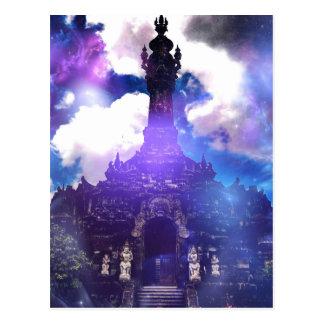 Carte Postale Le temps de temple a oublié