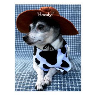 Carte Postale Le Texas Terrier