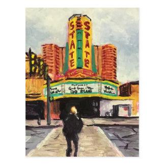 Carte Postale Le théâtre Ann Arbor d'état