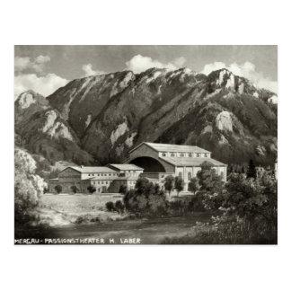 Carte Postale Le théâtre chez Oberammergau, 1930