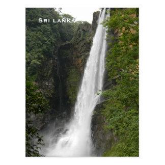 Carte Postale Le tourisme vintage de voyage du Sri Lanka