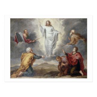 Carte Postale Le Transfiguration (huile sur le cuivre)