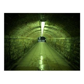 Carte Postale Le tunnel