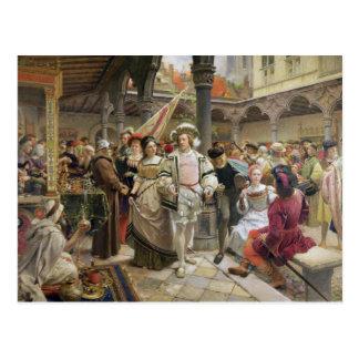 Carte Postale Le vieux Beurs à Anvers, 1892
