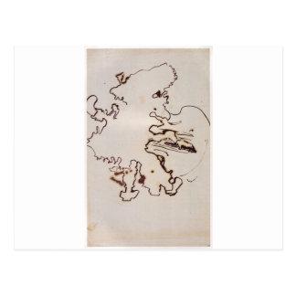 Carte Postale Le violoncelliste par Victor Hugo