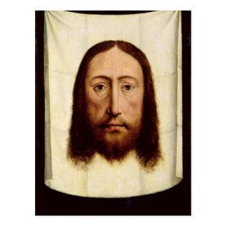 Carte Postale Le visage saint, c.1450-60