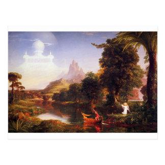 Carte Postale Le voyage de la vie : Jeunesse par Thomas Cole