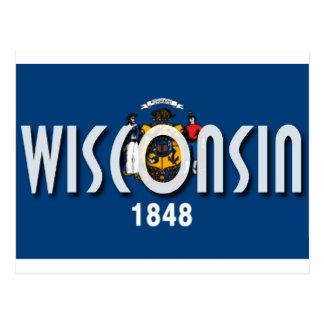 Carte Postale Le Wisconsin