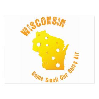 Carte Postale Le Wisconsin viennent odeur notre air de laiterie