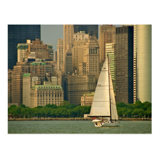 Carte Postale Le yacht !