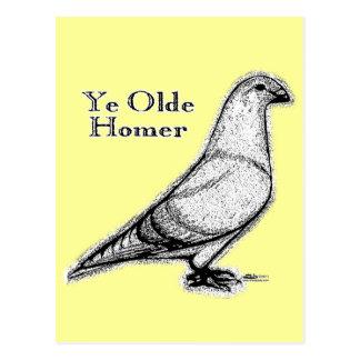 Carte Postale Le YE Homer d'antan