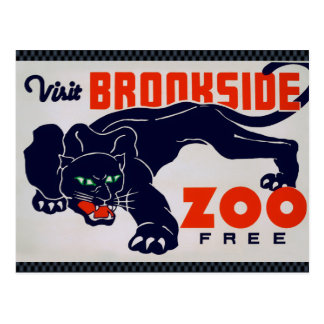 Carte Postale Le zoo de Brookfield