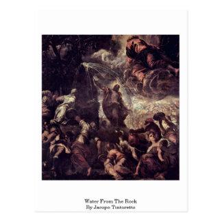 Carte Postale L'eau de la roche par Jacopo Tintoretto