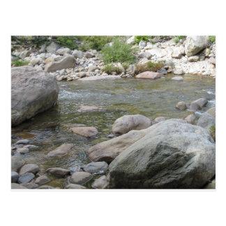 Carte Postale L'eau rocheuse