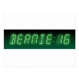 Carte Postale Lecture de Digitals de ponceuses de Bernie
