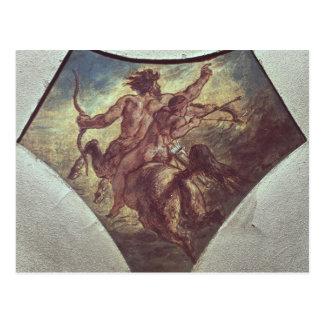 Carte Postale L'éducation d'Achille