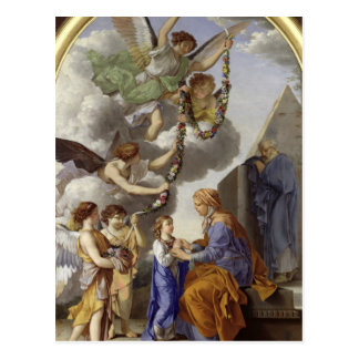 Carte Postale L'éducation de la Vierge