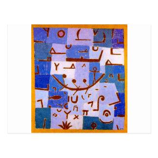 Carte Postale Légende du Nil par Paul Klee