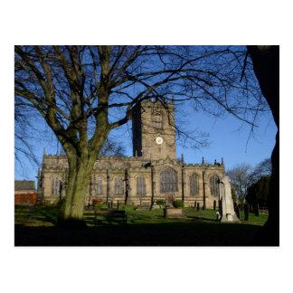 Carte Postale L'église Ecclesfield. de St Mary