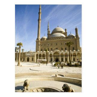 Carte Postale L'Egypte, le Caire. La mosquée imposante de