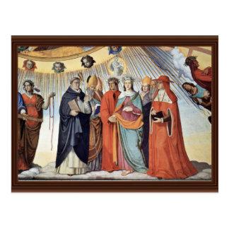 Carte Postale L'empyré et les figures des huit cieux
