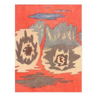 Carte Postale L'endroit des jumeaux par Paul Klee