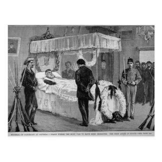 Carte Postale L'enterrement de Garibaldi chez Caprera