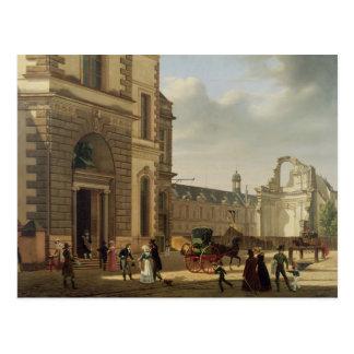 Carte Postale L'entrée à Musee de Louvre et St