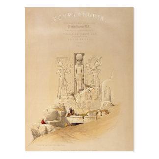 Carte Postale L'entrée au grand temple d'Aboo
