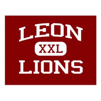 Carte Postale Léon - lions - lycée - Tallahassee la Floride