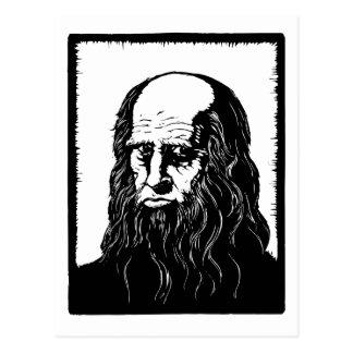 Carte Postale Leonardo da Vinci - portrait