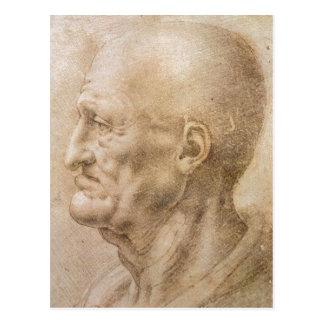 Carte Postale Leonardo inconnu d d'auteur de date de description