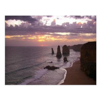 Carte Postale Les 12 apôtres en Australie