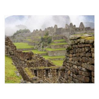 Carte Postale Les Amériques, Pérou, Machu PIcchu. L'antique