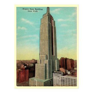 Carte Postale Les années 1930 d'Empire State Building