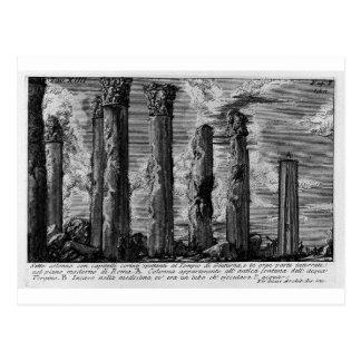Carte Postale Les antiquités romaines, T. 1, plat XIV par