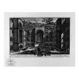 Carte Postale Les antiquités romaines, T. 1, plat XVIII. Tombe…