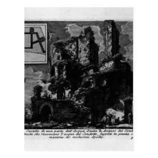 Carte Postale Les antiquités romaines, T. 1, plat XXVI. Aqua