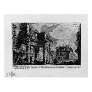Carte Postale Les antiquités romaines, T. 1, plat XXX. Forum