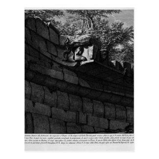 Carte Postale Les antiquités romaines, T. 4, plat XV
